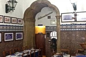 La salle du restaurant A Licorista o Bacalhoeiro à Lisbonne
