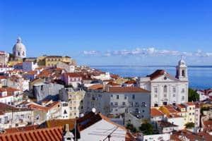 Panorama sur la ville de Lisbonne