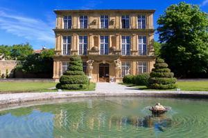Le pavillon Vendôme à Aix en Provence