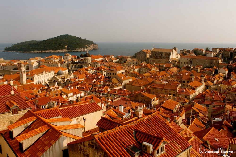 panorama-Dubrovnik - Blog Le Gourmand Voyageur