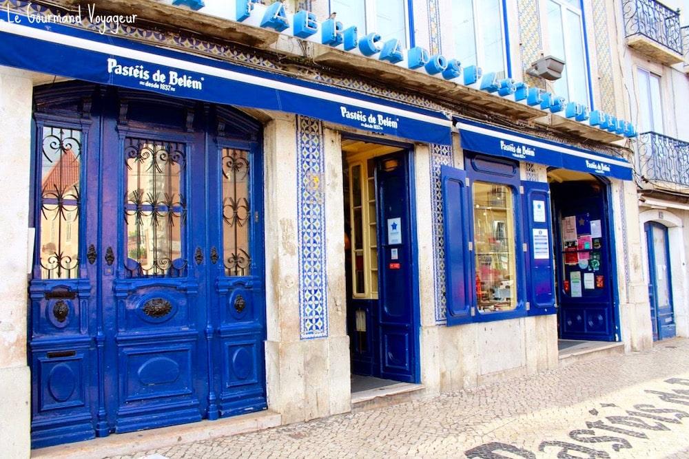 Les célèbres Pasteis de Belém