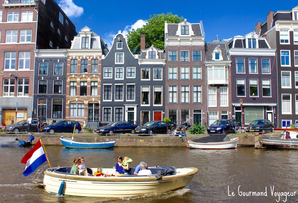 Visiter Amsterdam et ses canaux en bateau