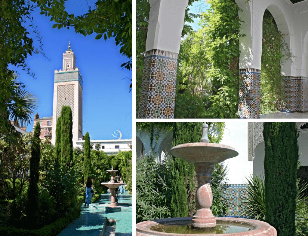 Jardins mosquée paris