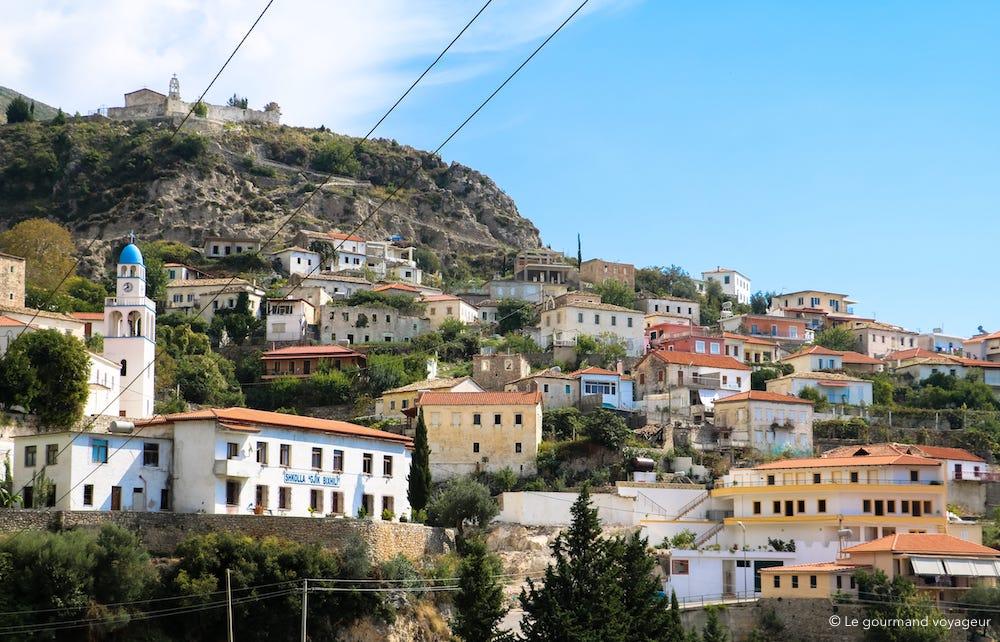 village albanais paysage