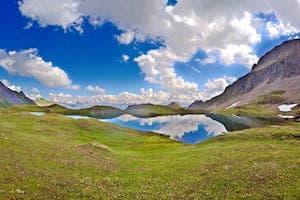 la randonnée des 5 lacs du Beaufortain