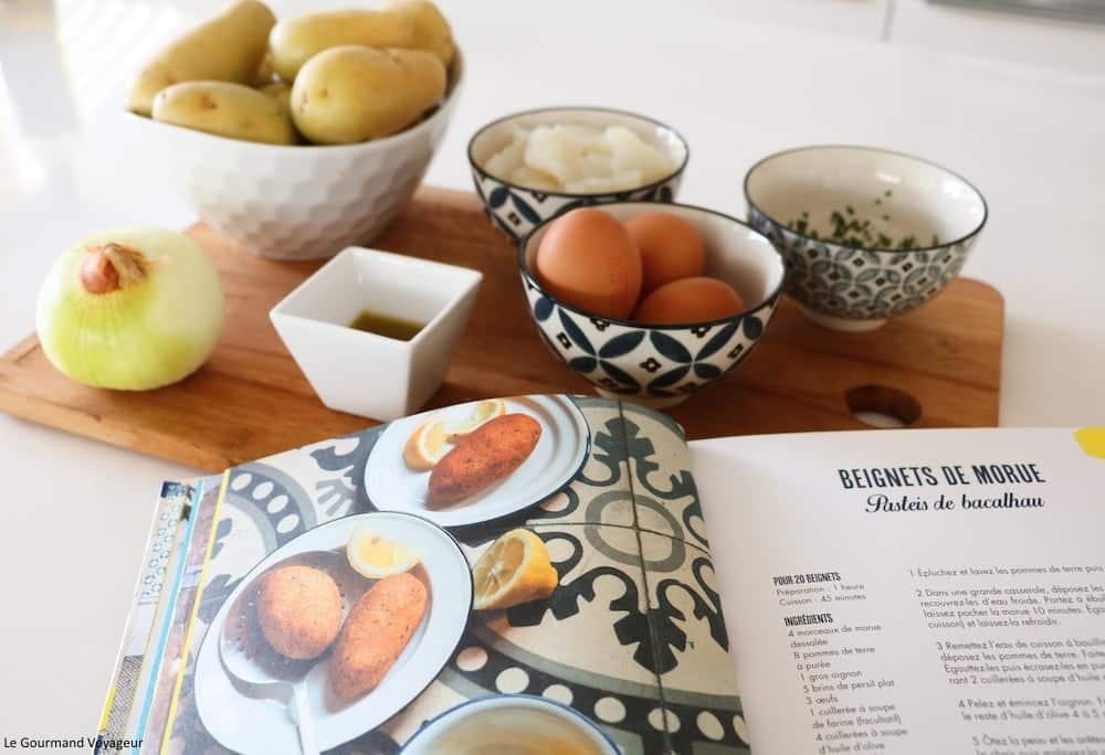 Cuisine Portugaise – La recette des Pasteis de bacalhau