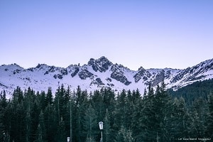 réveillon à la station de ski Courchevel - Blog Le Gourmand Voyageur
