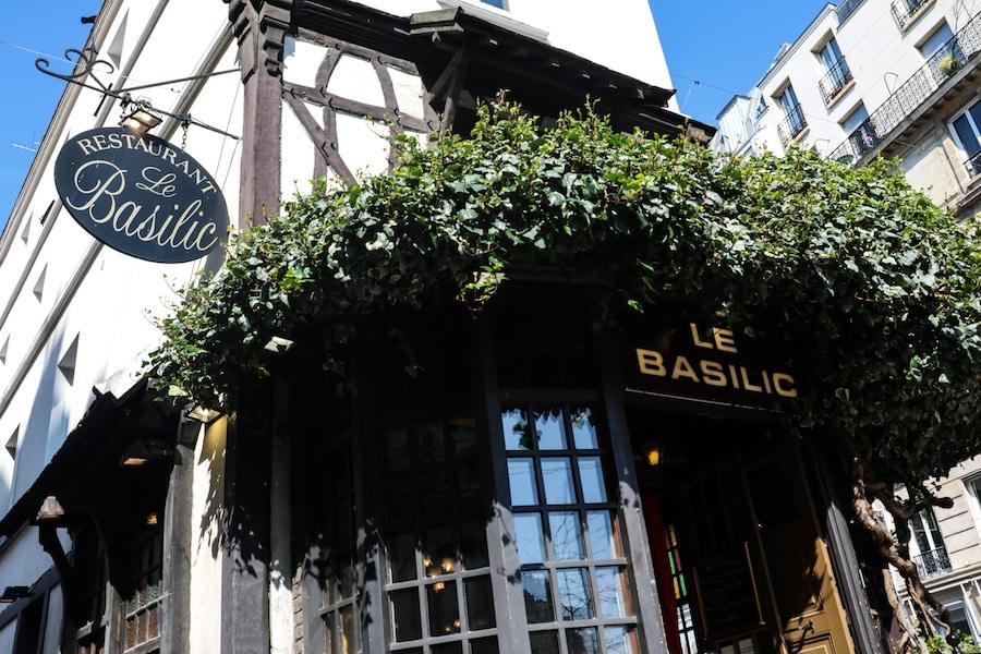 Blog Le Gourmand Voyageur - restaurant à Montmartre - Le Basilic