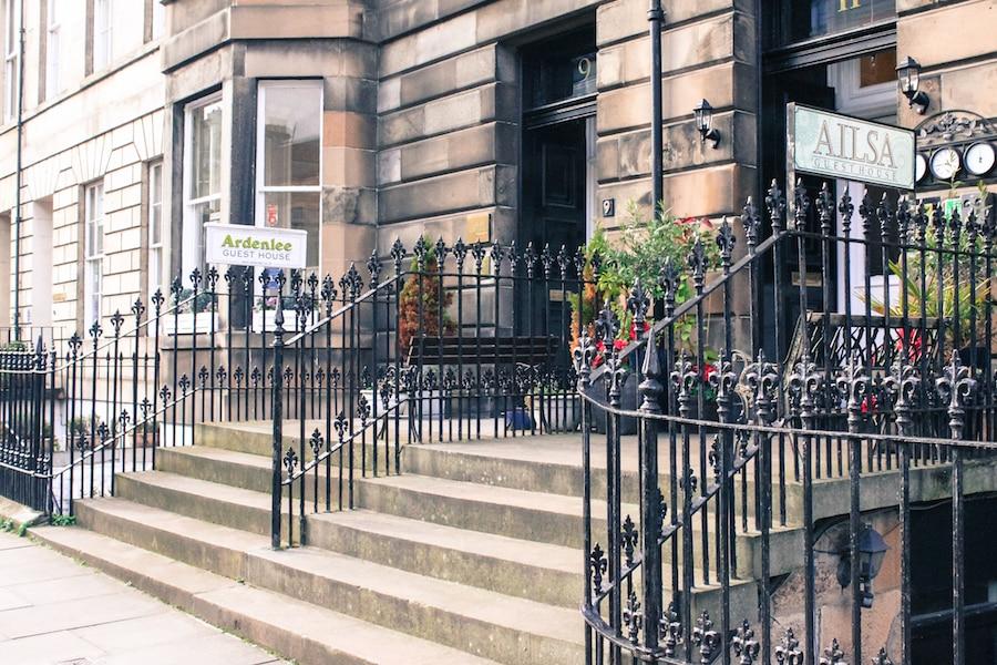 Blog le gourmand voyageur - city break Edimbourg - où loger à Edimbourg ?