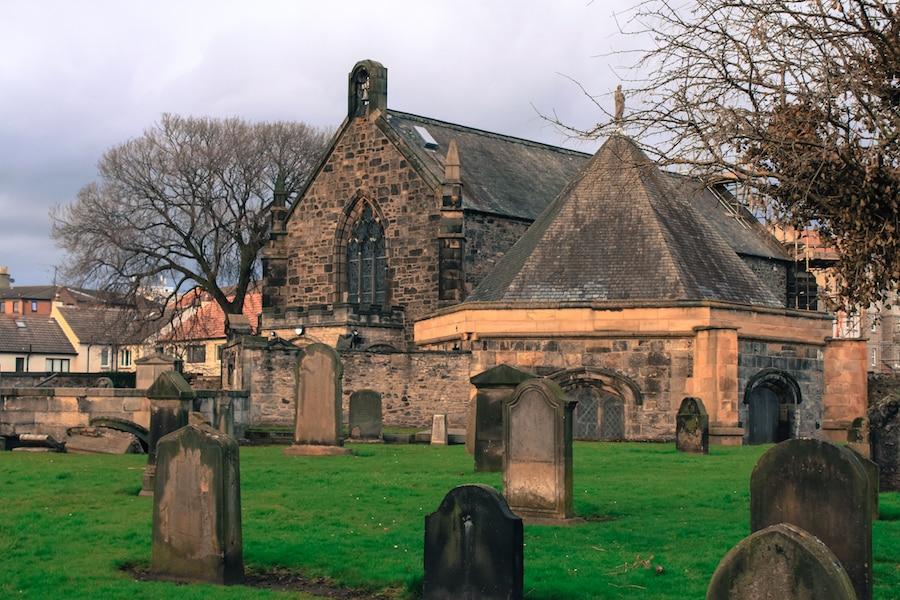 Blog le gourmand voyageur - city break Edimbourg - South Leith Parish Church