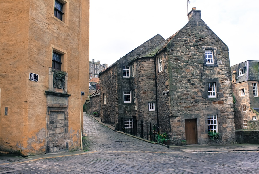 Blog le gourmand voyageur - voyage Edimbourg -Dean Village