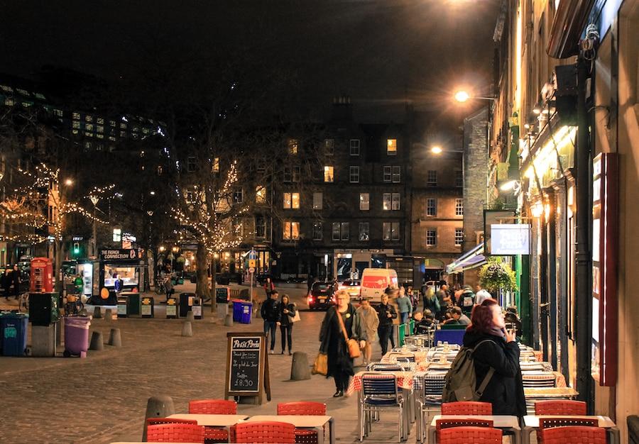 Blog voyage Le Gourmand Voyageur - weel-end Edimbourg - Grassmarket