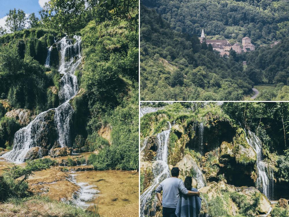 Blog Le Gourmand Voyageur - que faire lors d'un week-end Jura- village de Baume-les-Messieurs - Grottes et cascades