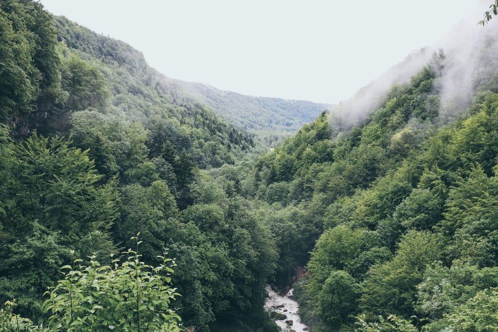 Blog Le Gourmand Voyageur - que faire lors d'un week-end Jura- Les Cascades du Hérisson