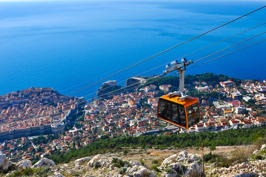 Cable Car in Dubrovnik - Blog Le Gourmand Voyageur