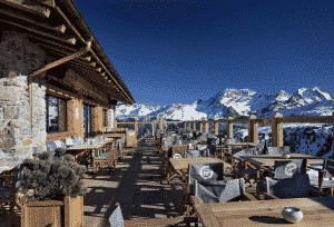 Station ski courchevel 1800