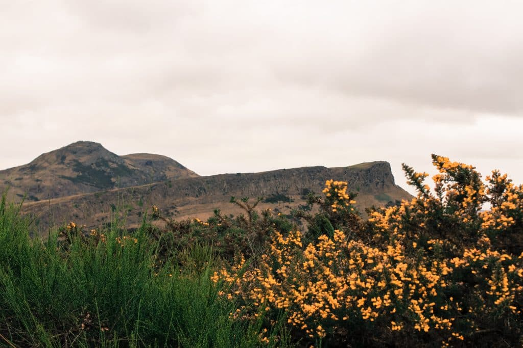 Blog le gourmand voyageur - city break Edimbourg - Arthur's seat