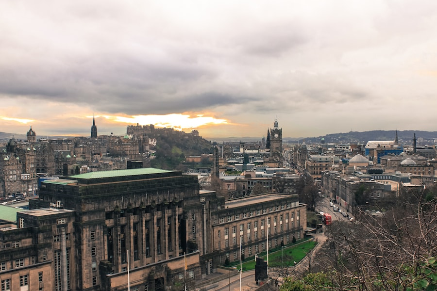 Blog le gourmand voyageur - city break Edimbourg - Calton Hill