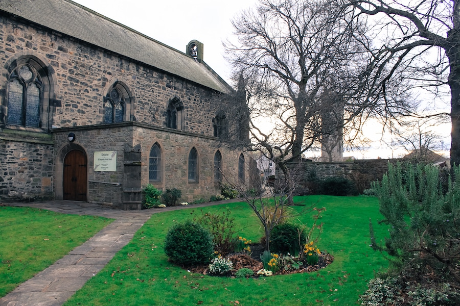 Blog le gourmand voyageur - city break Edimbourg - South Leith Parish Church