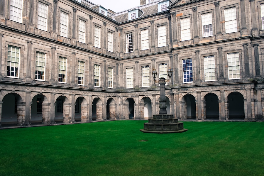 Blog le gourmand voyageur - city break Edimbourg -Holyrood palace