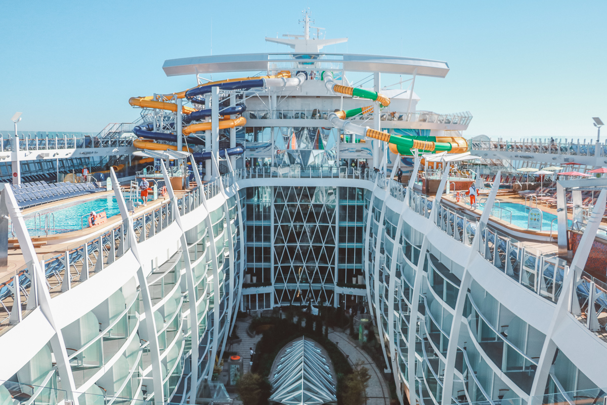 15 photos pour découvrir le Symphony of the Seas, le plus grand paquebot du monde